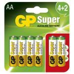 GP Super (AA) LR6 UE4+2