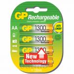 GP Rechargeable AA 1300mAh LSD UC4