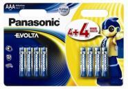 Evolta Panasonic AAA LR03 8BP