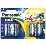 Evolta Panasonic (AA) LR6 8BP