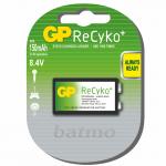 GP ReCyko 9V 150mAh UC1 įkraunami