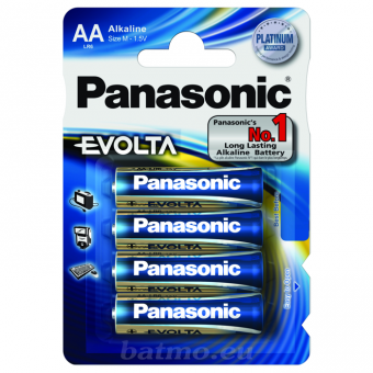 Evolta Panasonic (AA) LR6 4BP