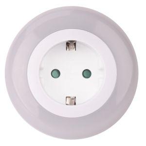 Naktinė lemputė 3 LED su šviesos sensoriumi