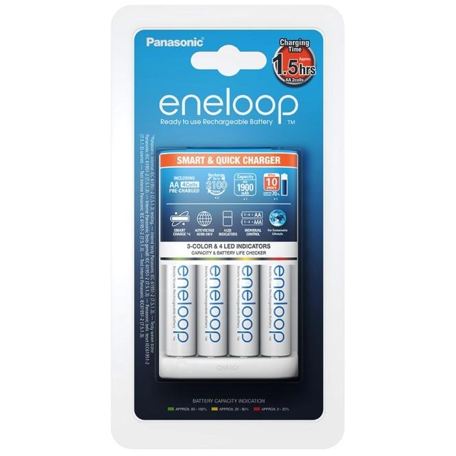 Įkroviklis Panasonic eneloop BQ-CC55