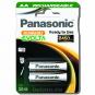 EVOLTA Panasonic AA 2450mAh 2BC įkraunami