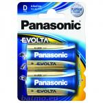 Evolta Panasonic D LR20 2BP